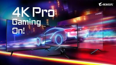 ¡El gaming en 4K empieza! GIGABYTE AORUS presenta monitores de juegos tácticos 4K