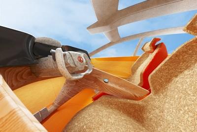 Concepto de diseño interior del LF-Z Electrified por el premiado diseñador de calzado Salehe Bembury (PRNewsfoto/Lexus)