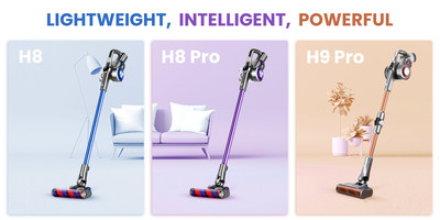 Lighter, powerful, more intelligent: Jimmy H Series Vacuum Cleaner Released.