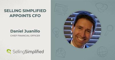 Selling Simplified, una empresa líder en generación de demanda B2B, anuncia a Dan Juanillo como director financiero.