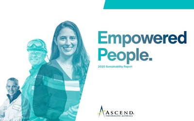 """Ascend's 2020 Sustainability Report, """"Empowered People"""", highlights the employees who advocated and are seeing through initiatives across the company's three sustainability pillars: Empowering People, Innovating Solutions and Operating Without Compromise."""