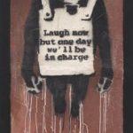 Por primera vez en la historia de la empresa, Phillips aceptará criptomonedas como medio de pago por una obra de arte física con la venta de «Laugh Now Panel A» de Banksy