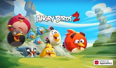 Angry Birds 2 llega a AppGallery para ofrecer divertidos y plumosos retos y ofertas a los usuarios de Huawei