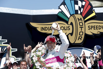 Helio Castroneves piloted his Meyer Shank Racing Honda to victory Sunday in the 105th running of the Indianapolis 500. It was Honda's 14th win in the Memorial Day weekend classic in 27 races.