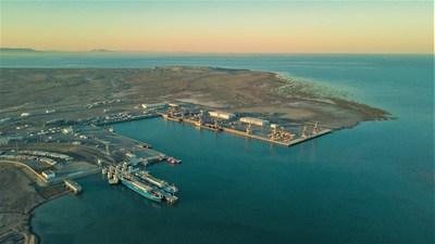 The Port of Baku in the Alat settlement, Azerbaijan (PRNewsFoto/Port of Baku)