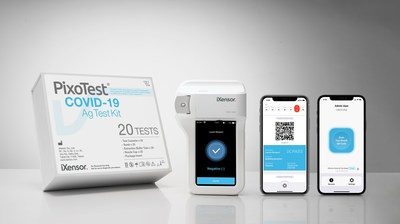 iXensor launches the CE marked PixoTest POCT COVID-19 Testing solution