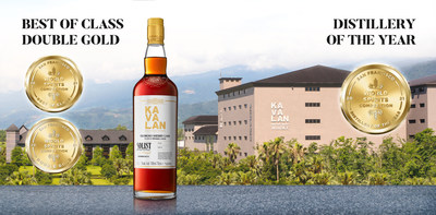 Kavalan named Distillery of the Year and its Solist Oloroso Sherry wins Best Other Single Malt