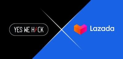 Lazada, la plataforma de comercio electrónico del Sudeste Asiático, lanza el programa público de recompensa de errores con YesWeHack (PRNewsfoto/Lazada Group)