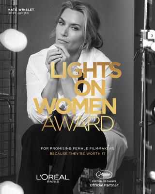 L'Oréal Paris, Lights On Women Award, Kate Winslet, 2021 Juror