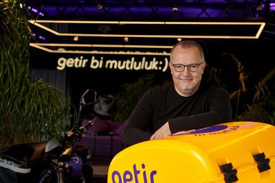 Getir Founder, Nazim Salur, at Getir HQ Istanbul